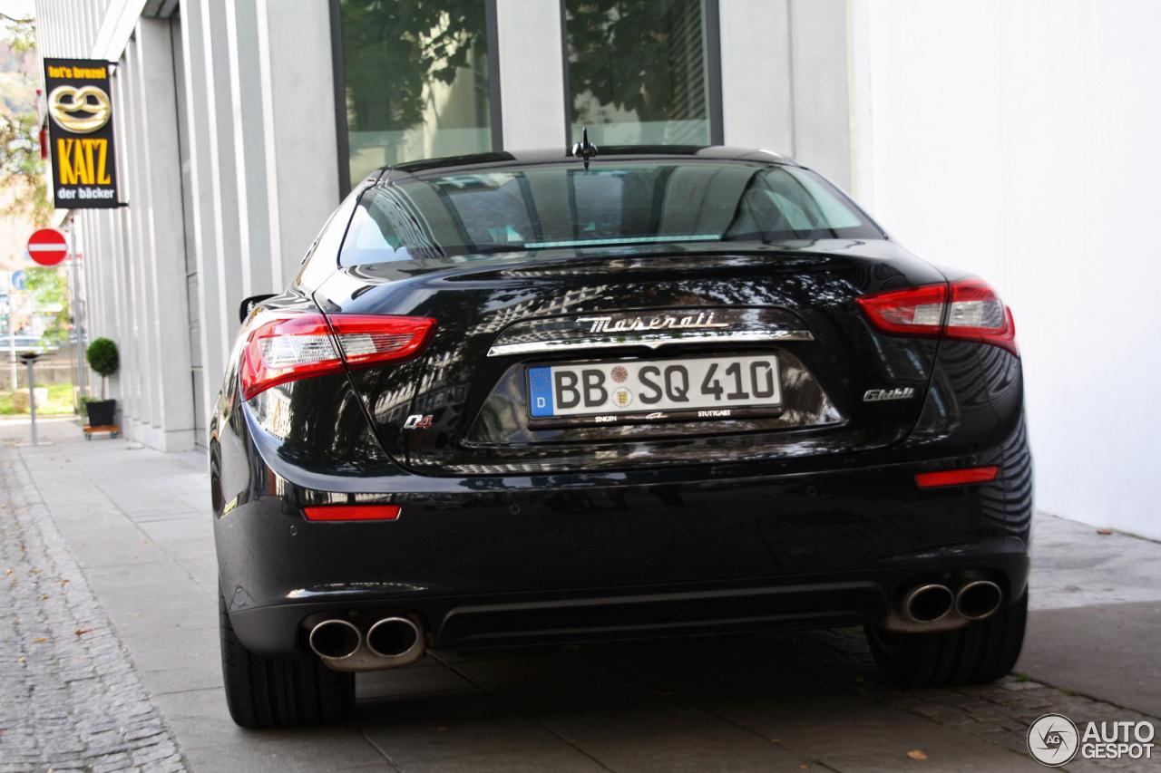 Maserati Ghibli S Q4 2013 26 Oktober 2013 Autogespot