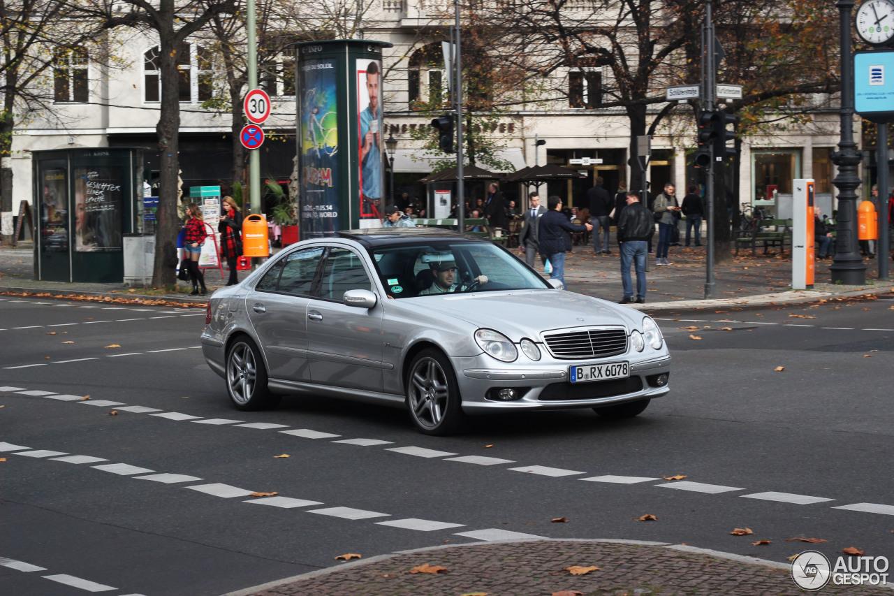 Mercedes-Benz E 55 AMG 2
