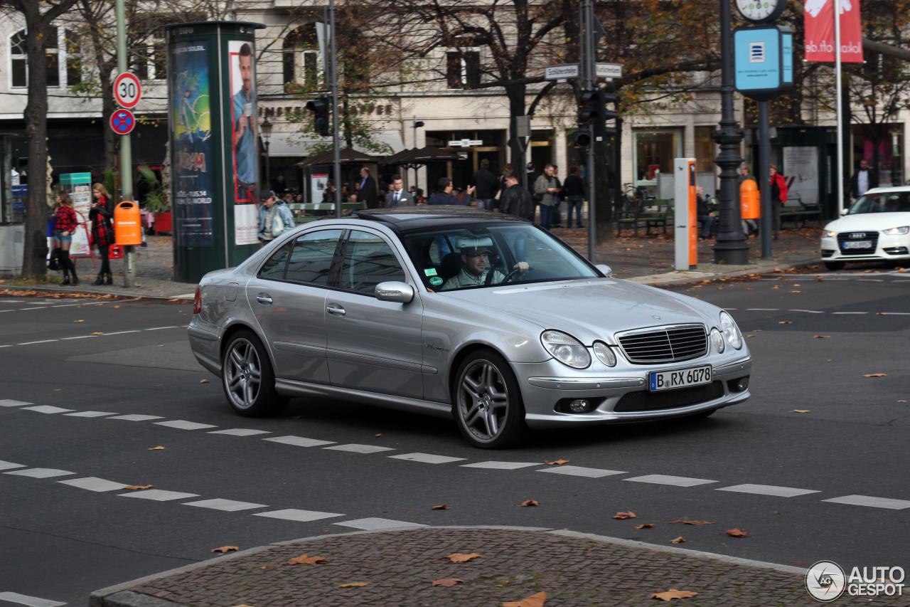 Mercedes-Benz E 55 AMG 3