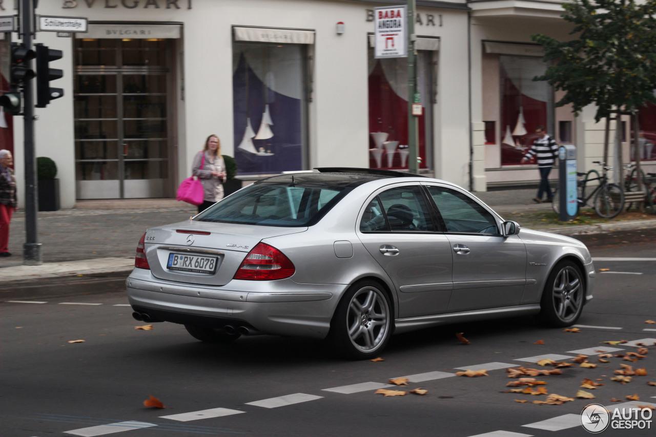 Mercedes-Benz E 55 AMG 6