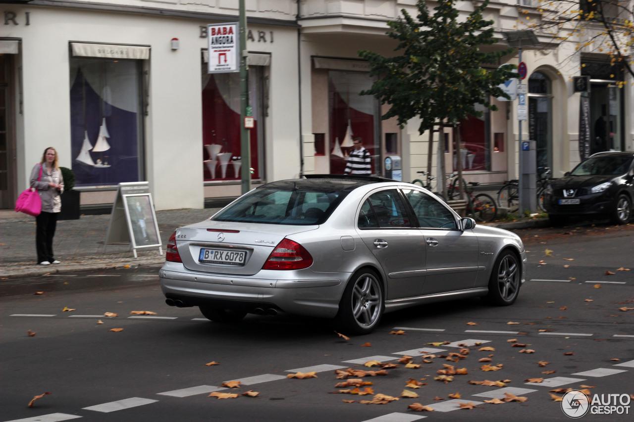 Mercedes-Benz E 55 AMG 7