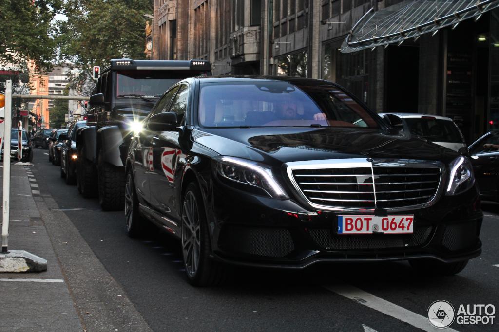 Mercedes-Benz Brabus B63S 700 6x6 - 28 October 2013 ...