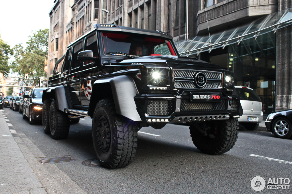 Mercedes benz brabus b63s 700 6x6 28 october 2013 for Mercedes benz g wagon 6x6 for sale