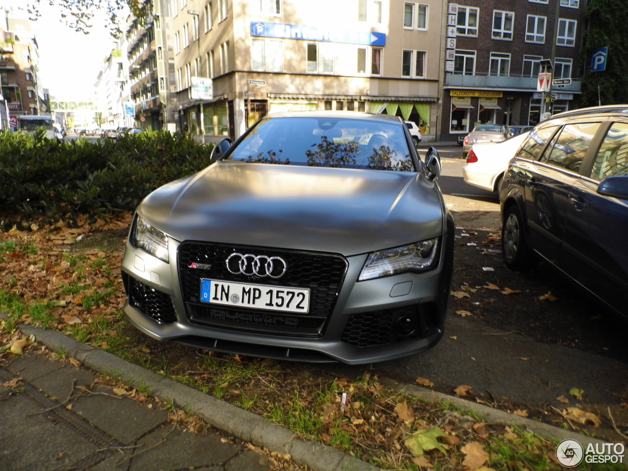 audi rs7 sportback 30 october 2013 autogespot. Black Bedroom Furniture Sets. Home Design Ideas