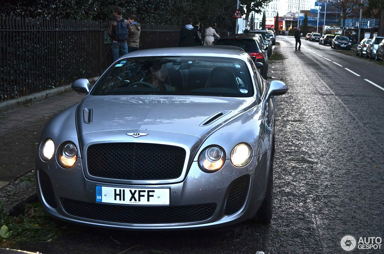 bentley continental supersports coup 30 october 2013 autogespot. Cars Review. Best American Auto & Cars Review