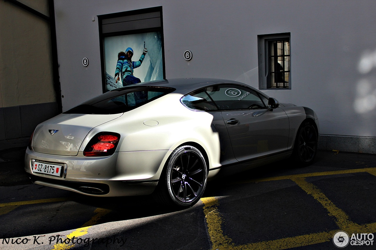 bentley continental supersports coup 31 october 2013 autogespot. Cars Review. Best American Auto & Cars Review