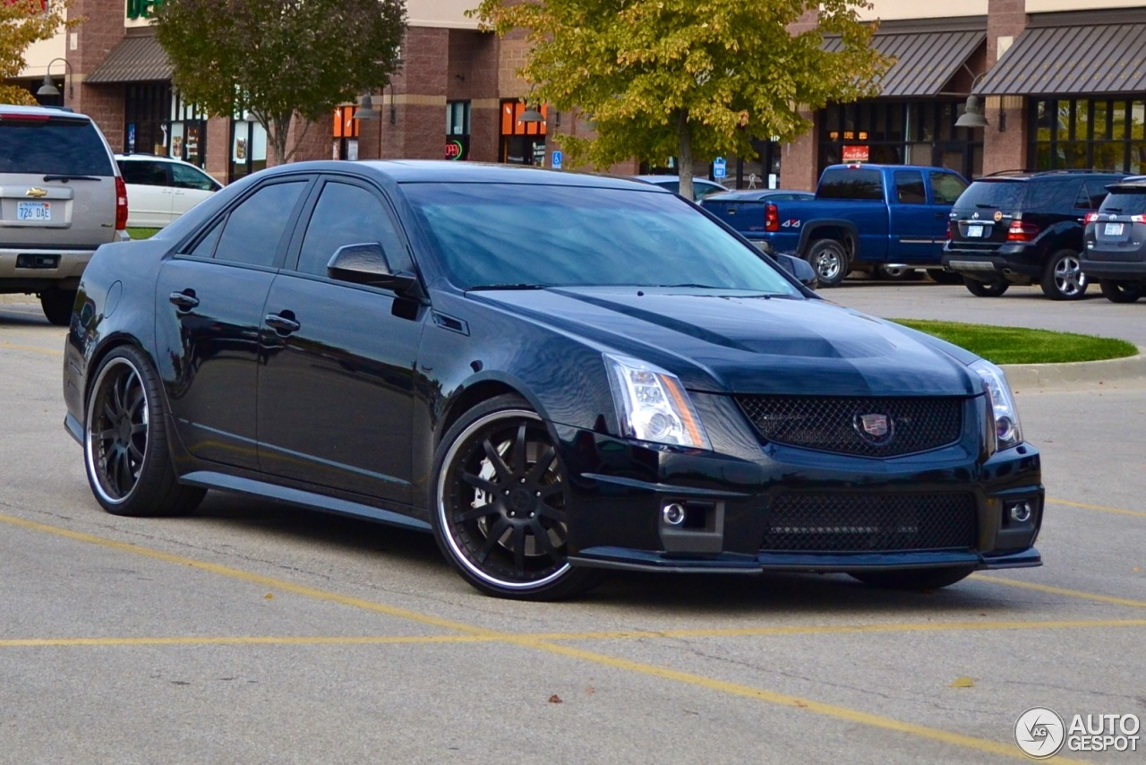 Cadillac CTSV Sedan Hennessey V700  31 October 2013  Autogespot