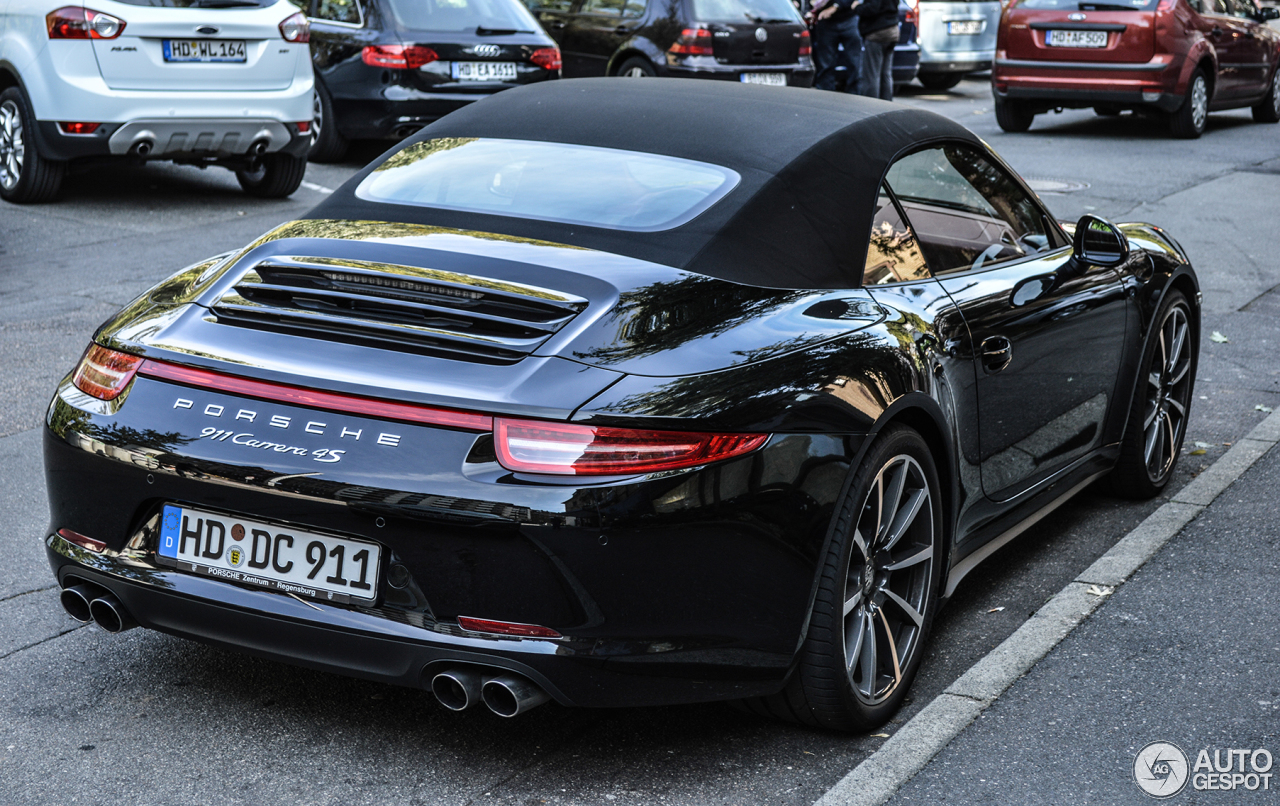 porsche 991 carrera 4s cabriolet 7 november 2013 autogespot. Black Bedroom Furniture Sets. Home Design Ideas