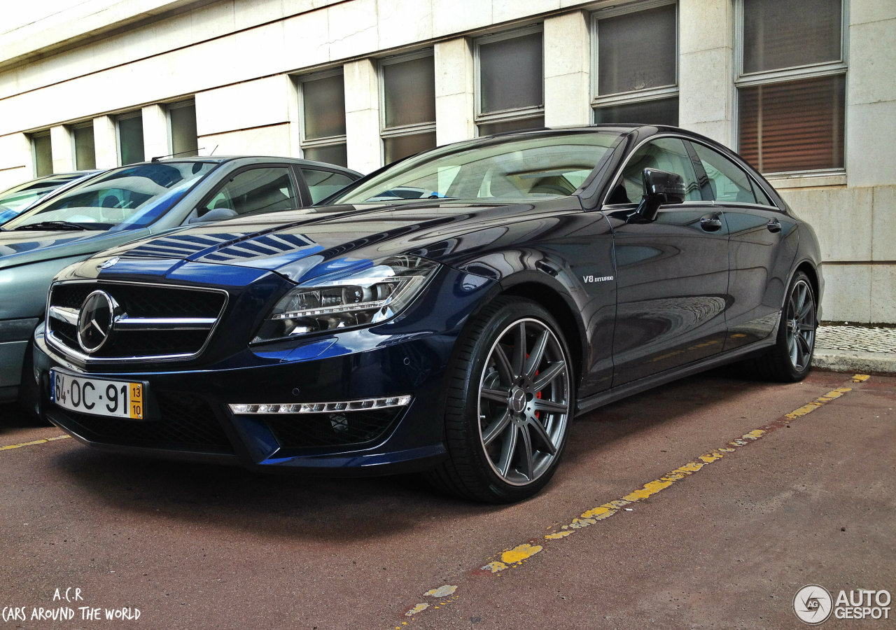 Mercedes benz cls 63 amg s c218 8 november 2013 autogespot for 2013 mercedes benz cls 63 amg