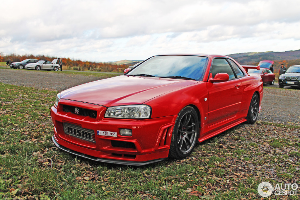 Nissan Skyline R34 Gt R V Spec 11 November 2013 Autogespot