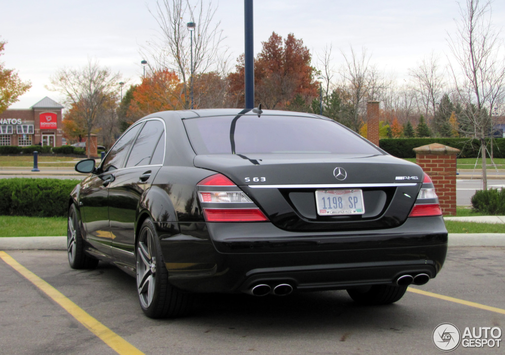 Mercedes Benz S 63 Amg W221 12 November 2013 Autogespot