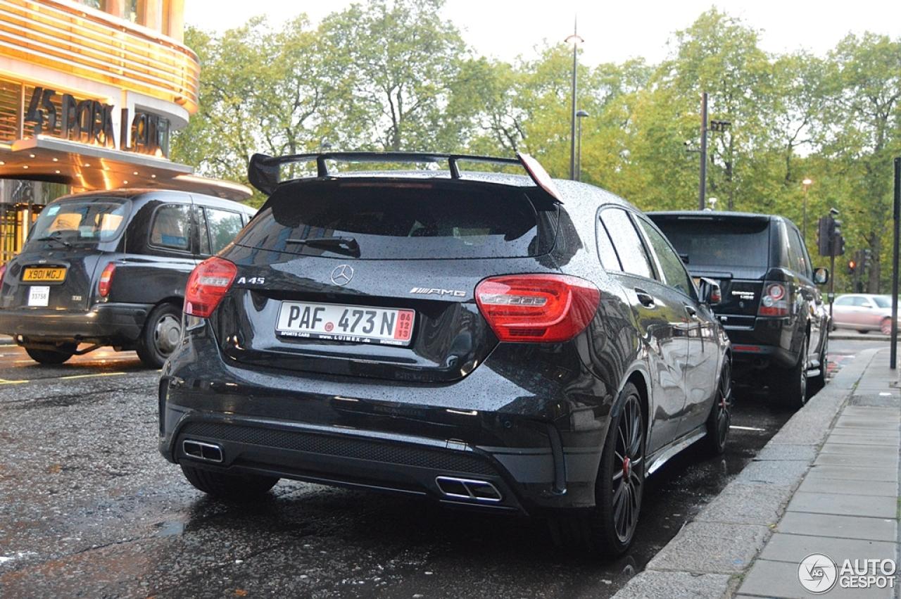 Mercedes Benz A 45 Amg Edition 1 16 November 2013