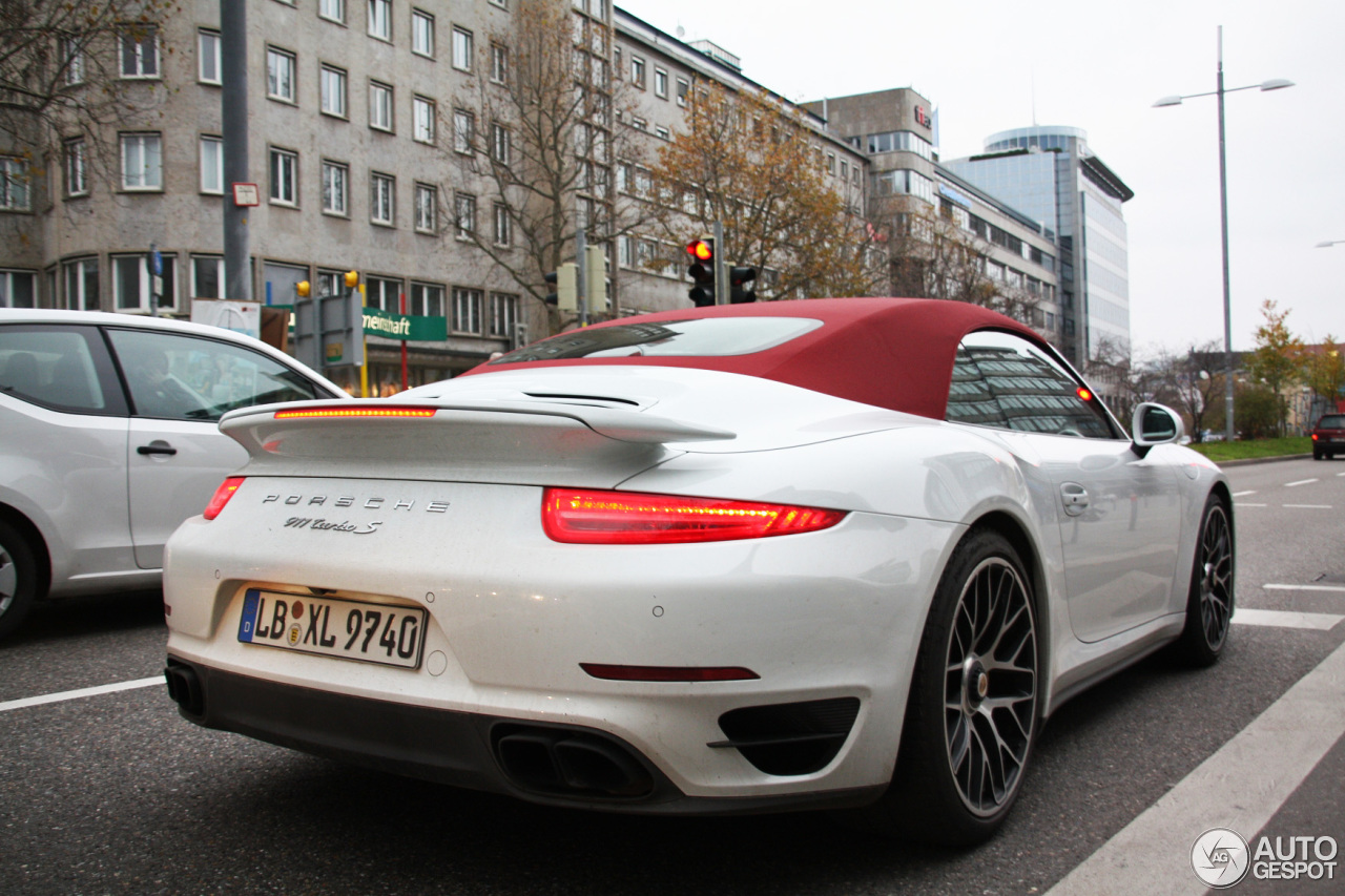 porsche 991 turbo s cabriolet 16 november 2013 autogespot. Black Bedroom Furniture Sets. Home Design Ideas