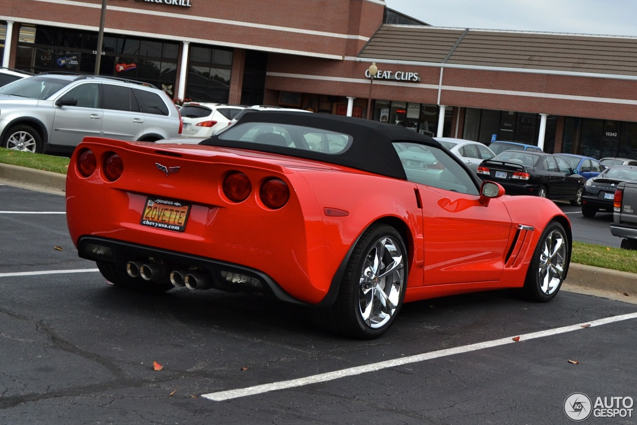 chevrolet corvette c6 grand sport convertible 20 november 2013 autogespot. Black Bedroom Furniture Sets. Home Design Ideas
