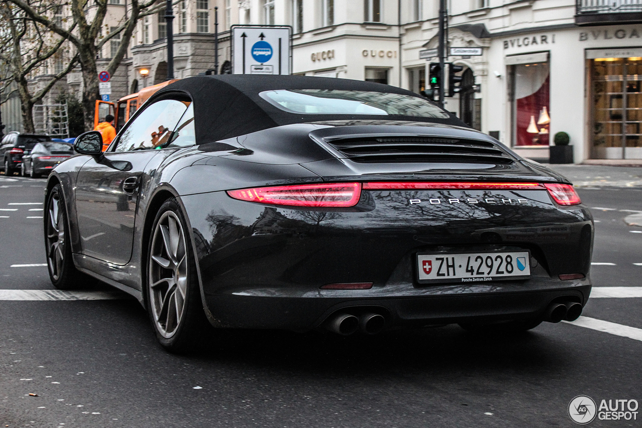 porsche 991 carrera 4s cabriolet 20 november 2013 autogespot. Black Bedroom Furniture Sets. Home Design Ideas