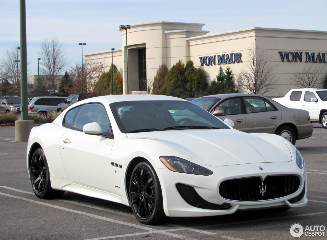 Maserati granturismo sport white - photo#24