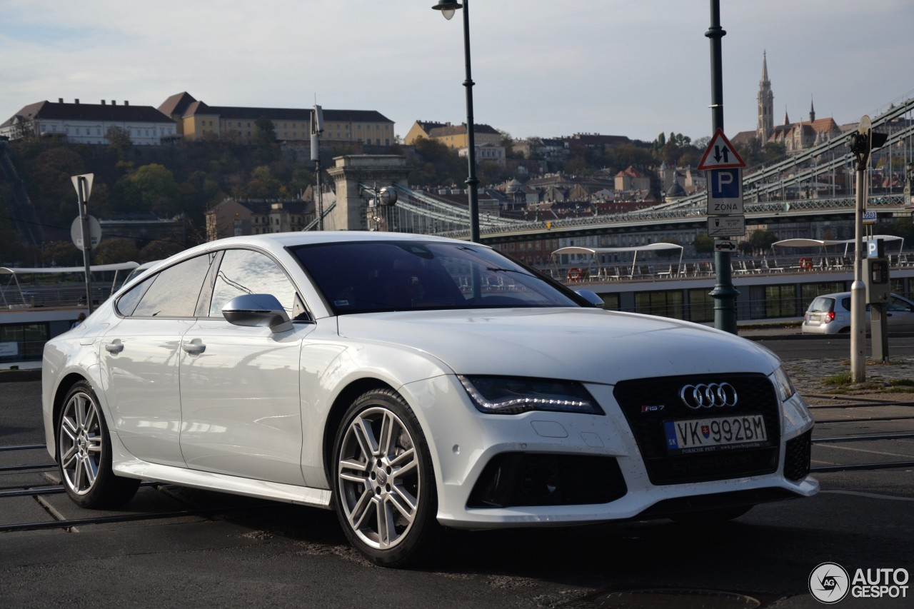 audi rs7 sportback 25 november 2013 autogespot. Black Bedroom Furniture Sets. Home Design Ideas