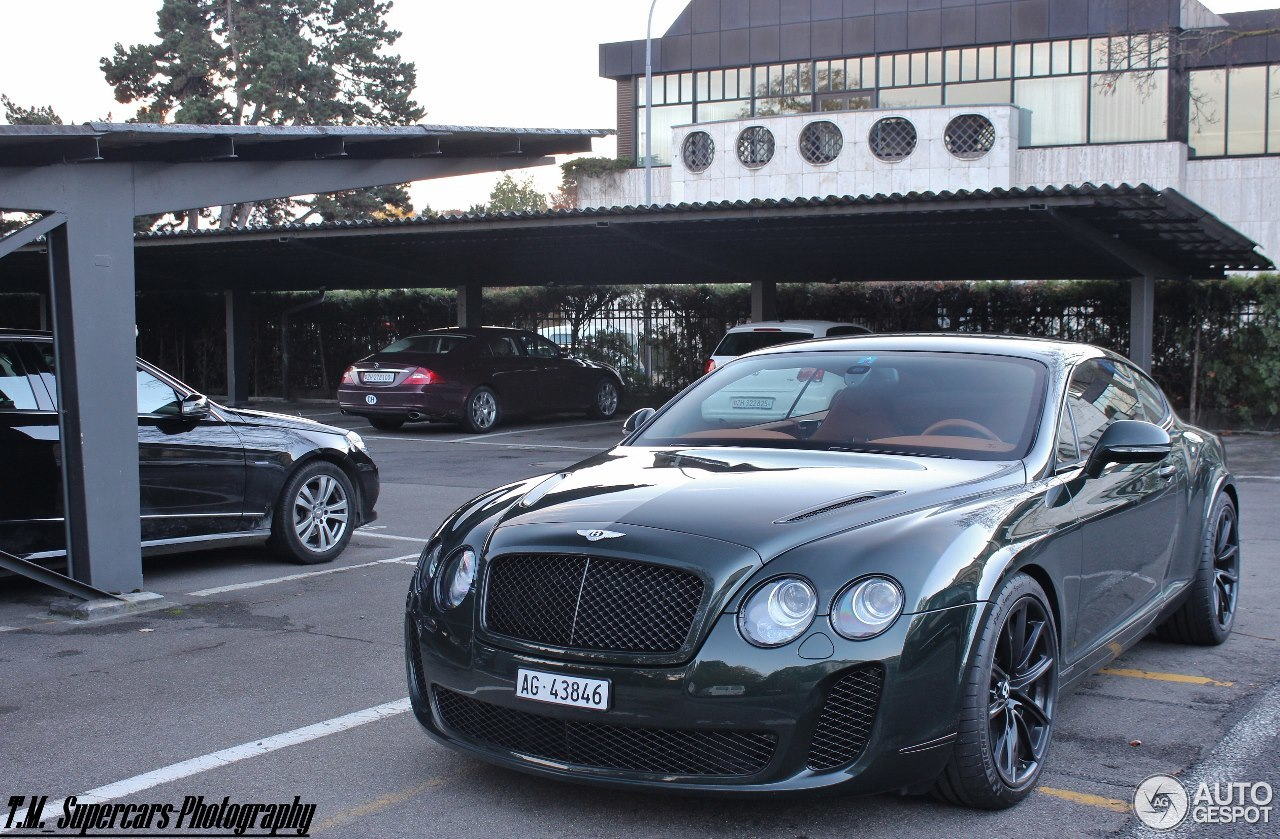 bentley continental supersports coup 28 november 2013 autogespot. Cars Review. Best American Auto & Cars Review