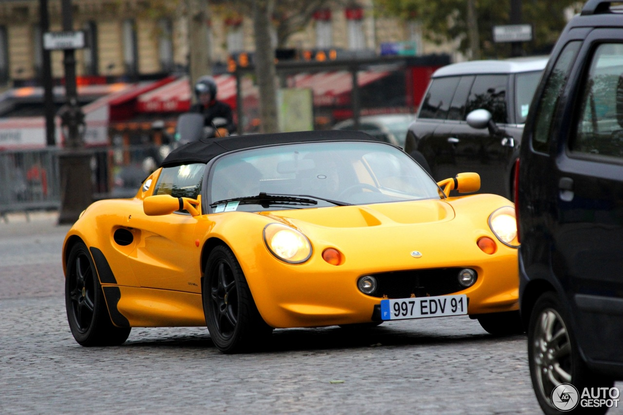 lotus elise s1 28 novembre 2013 autogespot. Black Bedroom Furniture Sets. Home Design Ideas