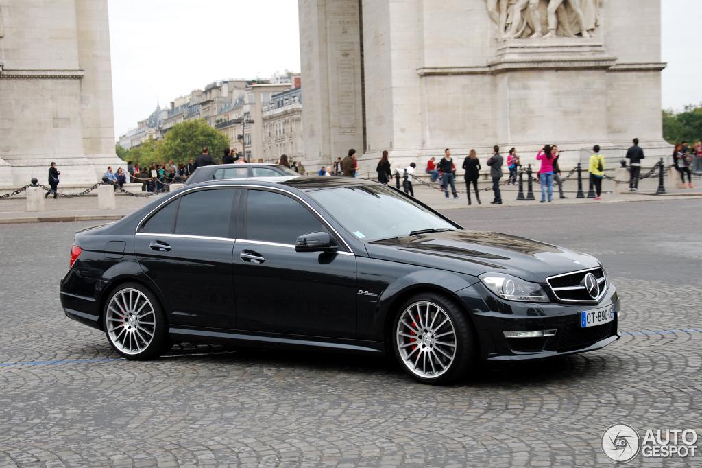 Mercedes benz c 63 amg w204 2012 1 december 2013 for Mercedes benz w204