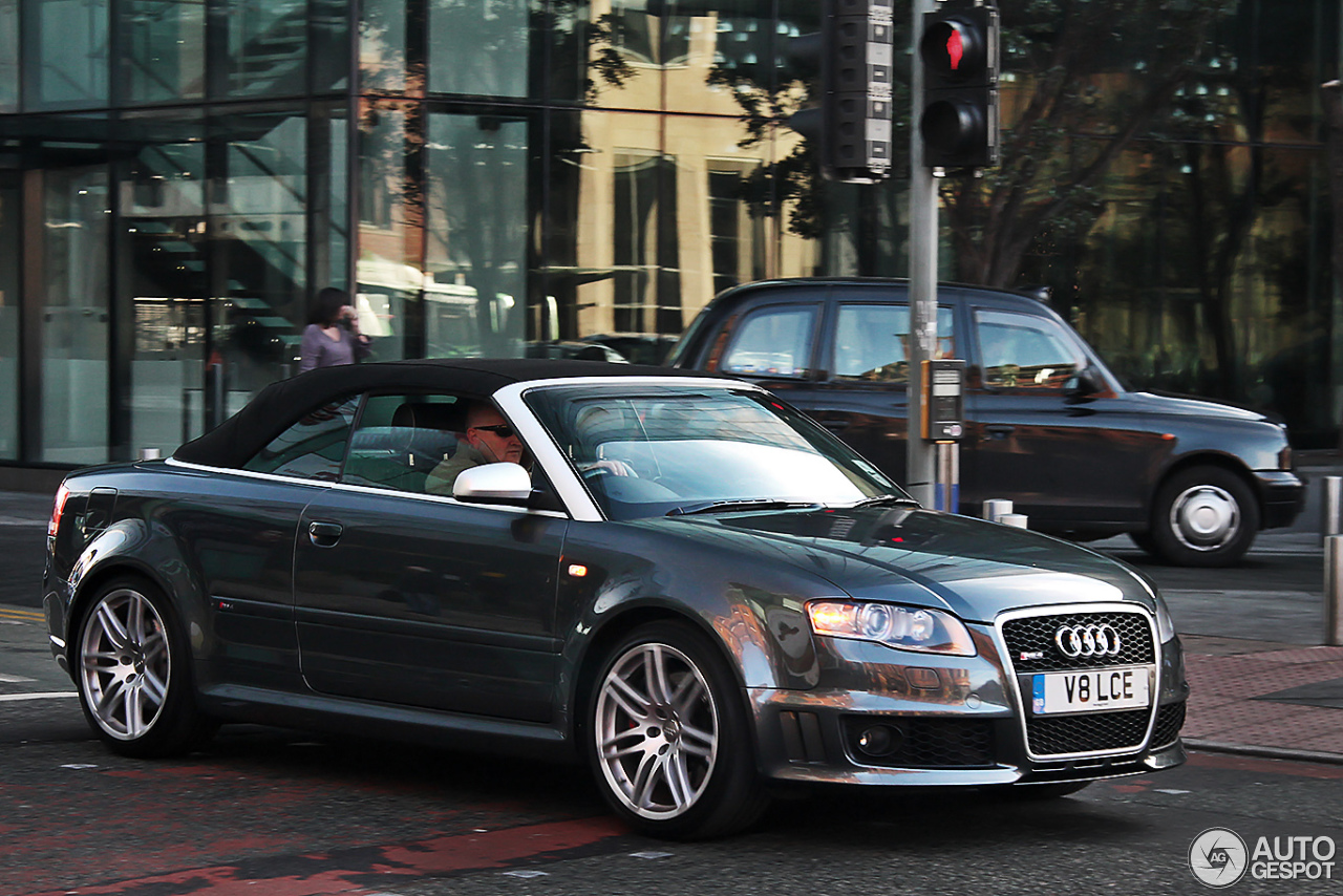 audi rs4 cabriolet 8 december 2013 autogespot. Black Bedroom Furniture Sets. Home Design Ideas