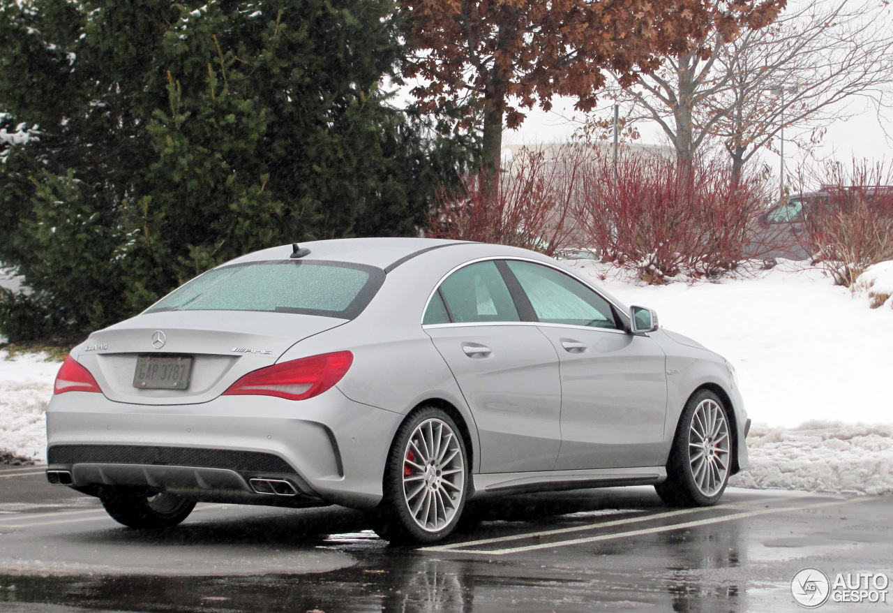mercedes benz cla 45 amg c117 8 december 2013 autogespot. Black Bedroom Furniture Sets. Home Design Ideas