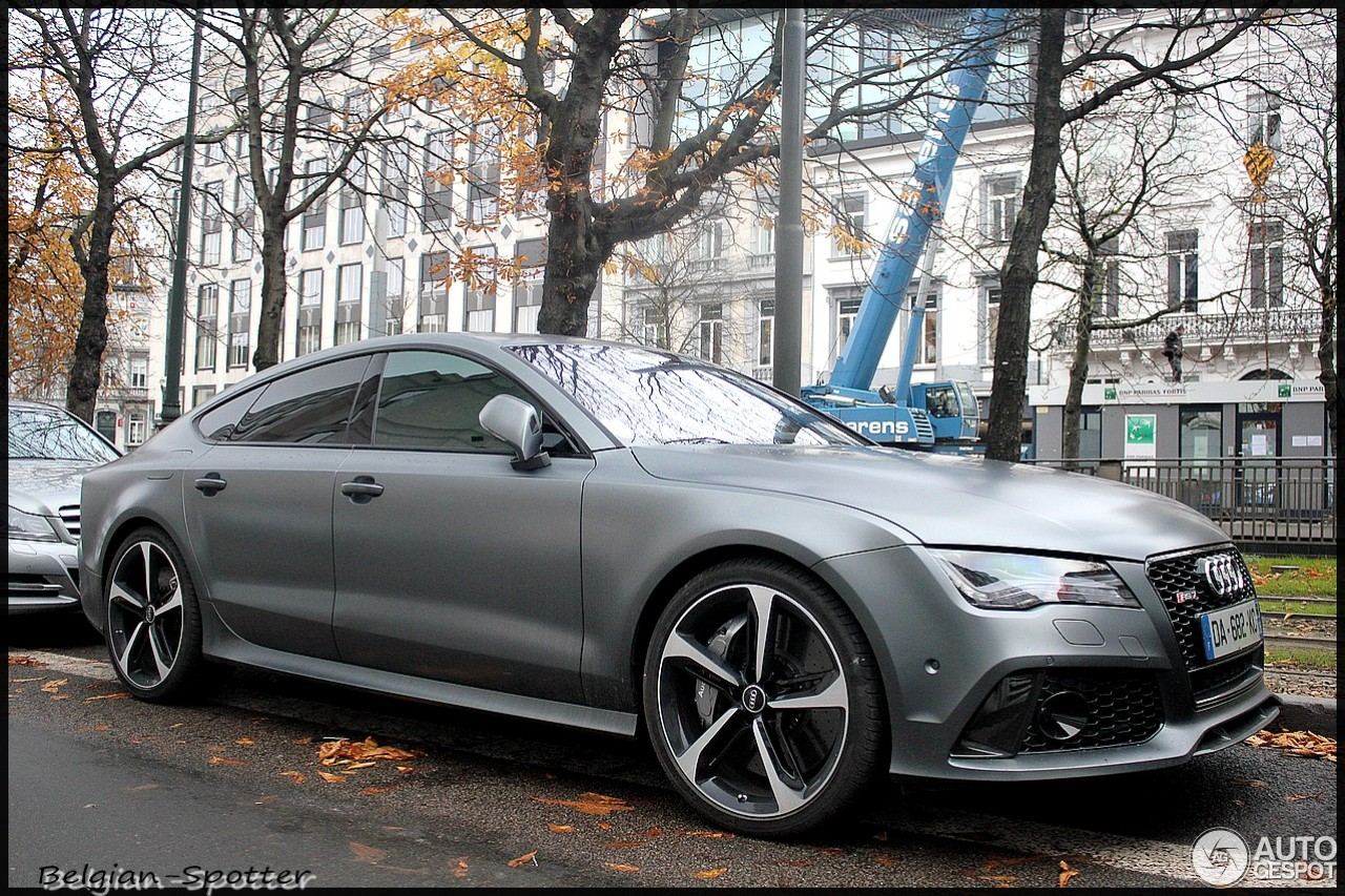 audi rs7 sportback 15 december 2013 autogespot. Black Bedroom Furniture Sets. Home Design Ideas