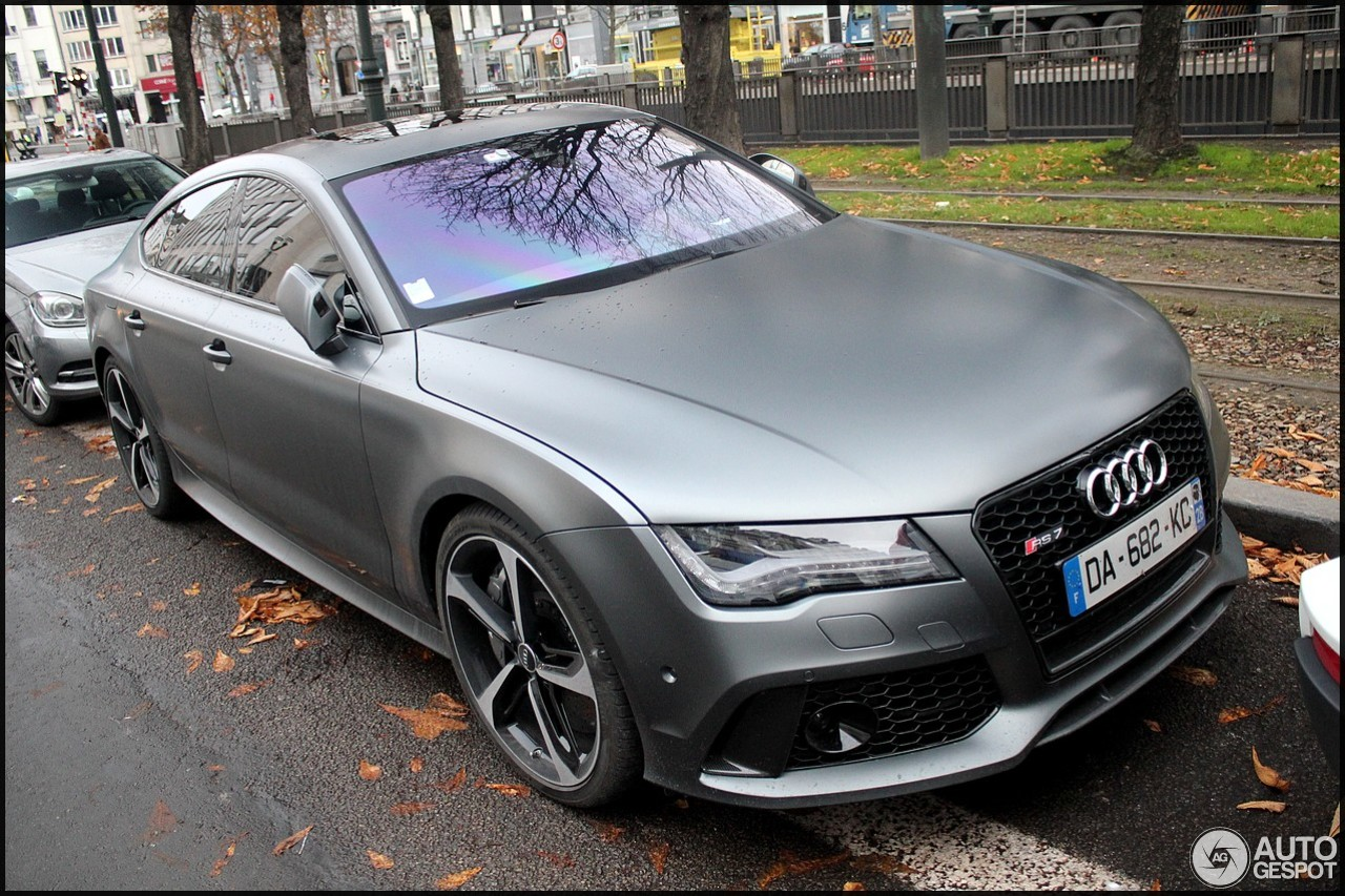 audi rs7 sportback 15 dcembre 2013 autogespot. Black Bedroom Furniture Sets. Home Design Ideas