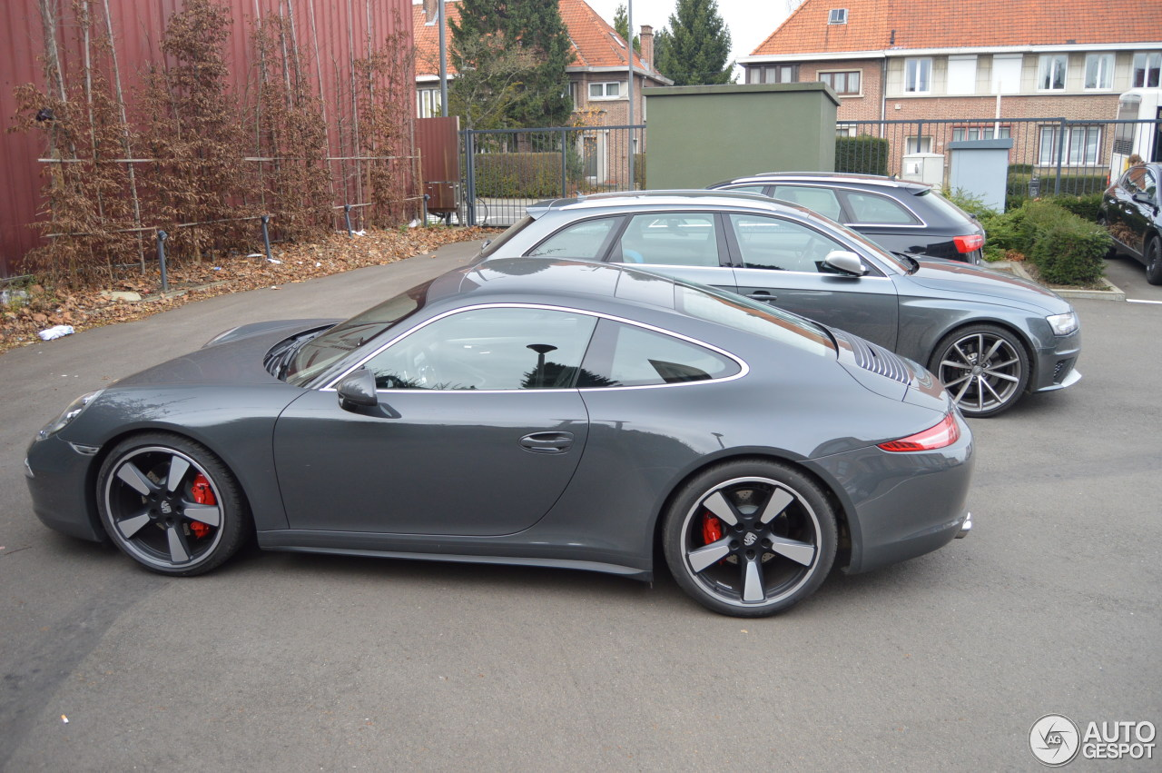 Porsche 991 50th Anniversary Edition 19 December 2013