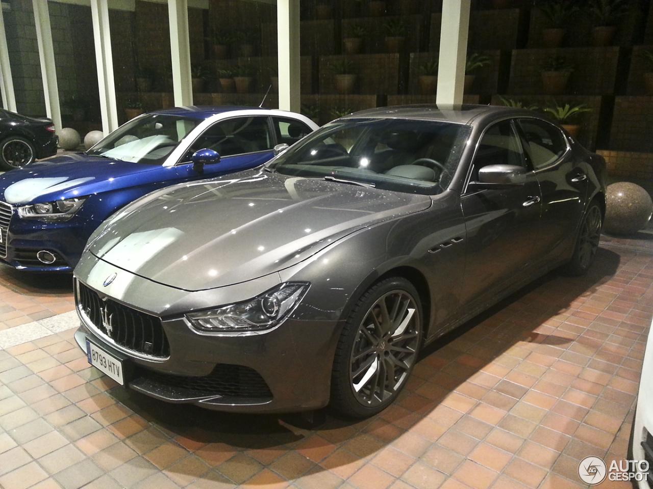 Maserati Ghibli 2013 21 December 2013 Autogespot