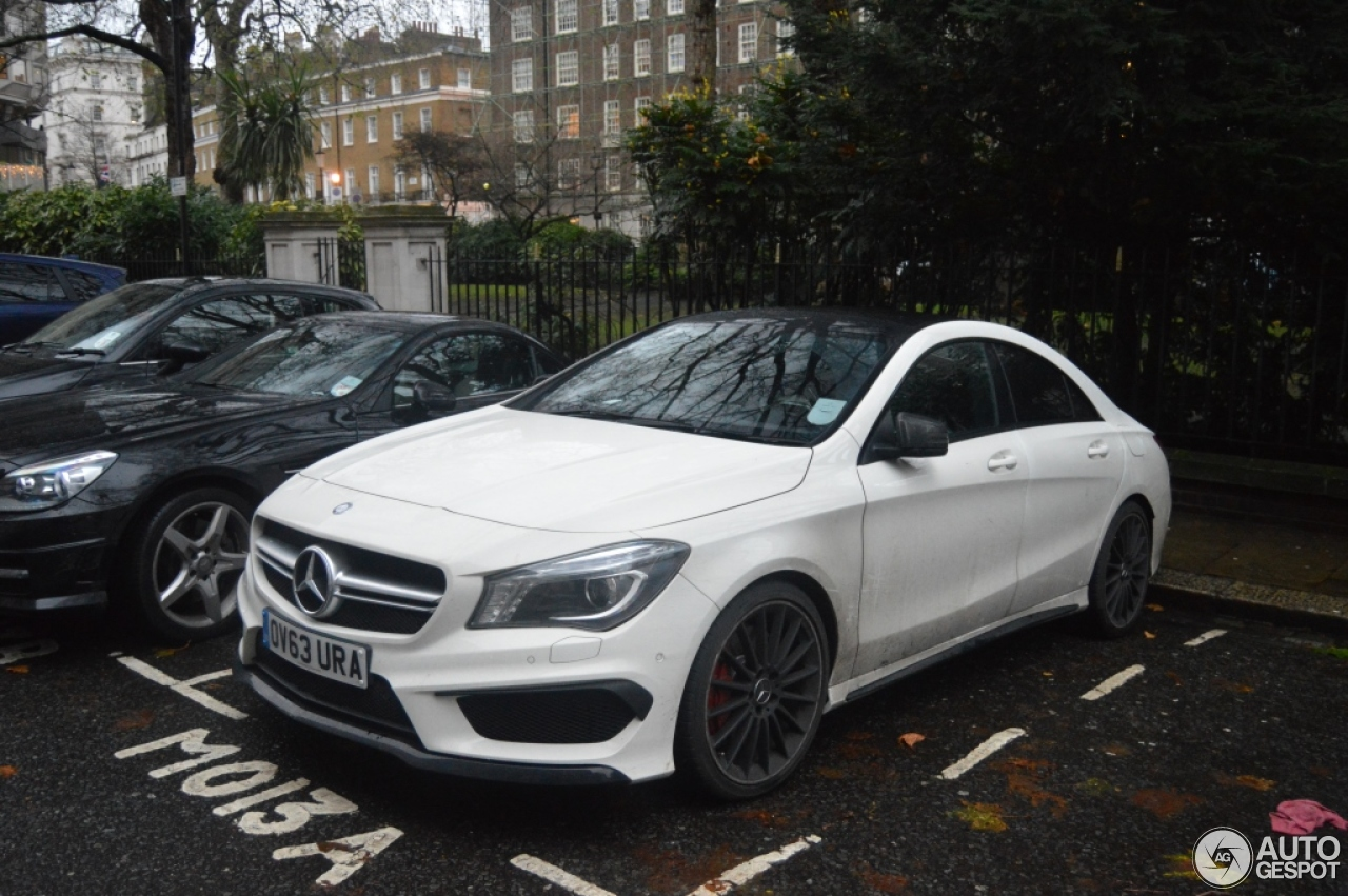 mercedes benz cla 45 amg c117 23 december 2013 autogespot. Black Bedroom Furniture Sets. Home Design Ideas