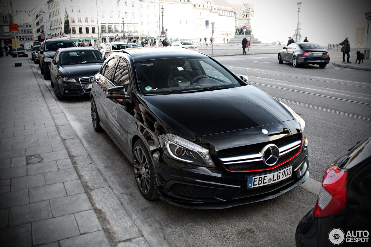 mercedes benz a 45 amg edition 1 24 dcembre 2013 autogespot. Black Bedroom Furniture Sets. Home Design Ideas