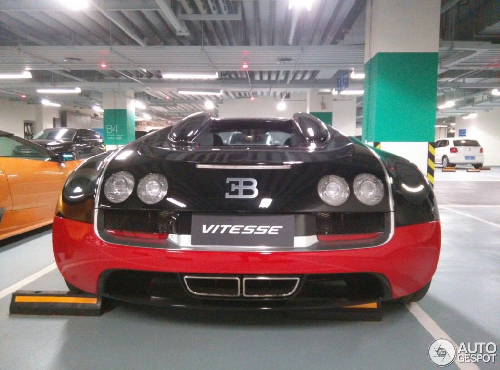 bugatti veyron 16 4 grand sport vitesse black and red. Black Bedroom Furniture Sets. Home Design Ideas