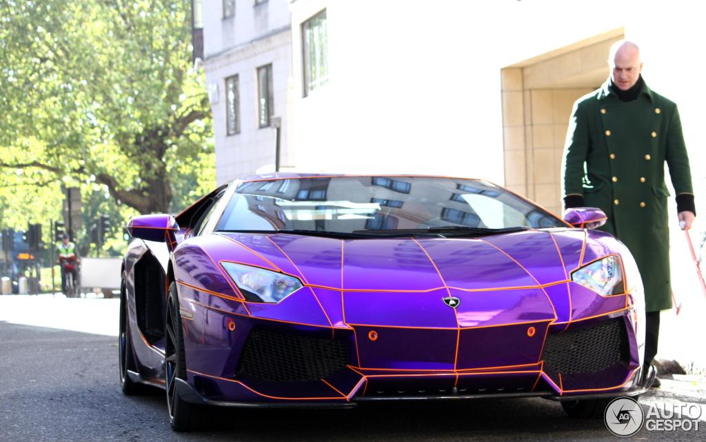 4 i lamborghini aventador lp700 4 lb performance nasser edition 4 - Lamborghini Aventador Chrome Purple
