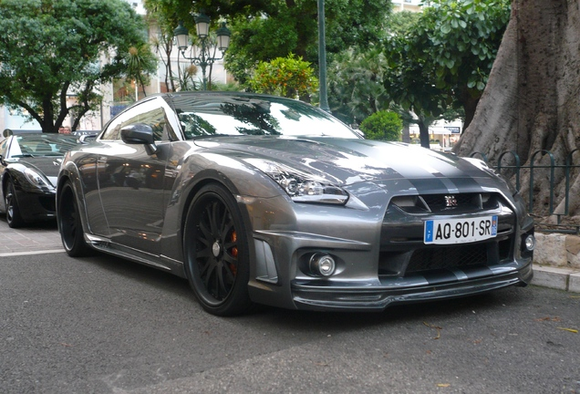 Nissan GT-R WALD Sports Line Black Bison Edition