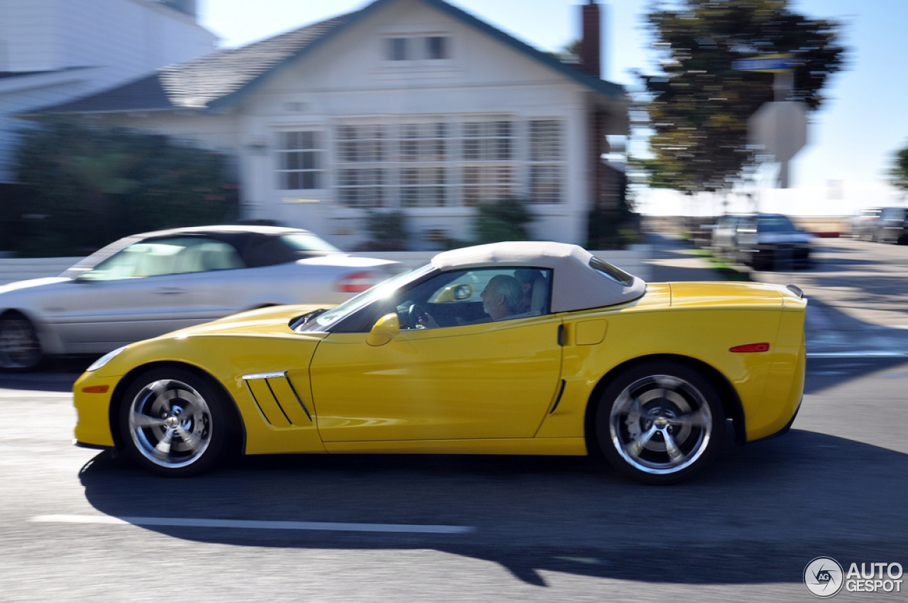 Chevrolet Corvette C6 Grand Sport Convertible 3 January