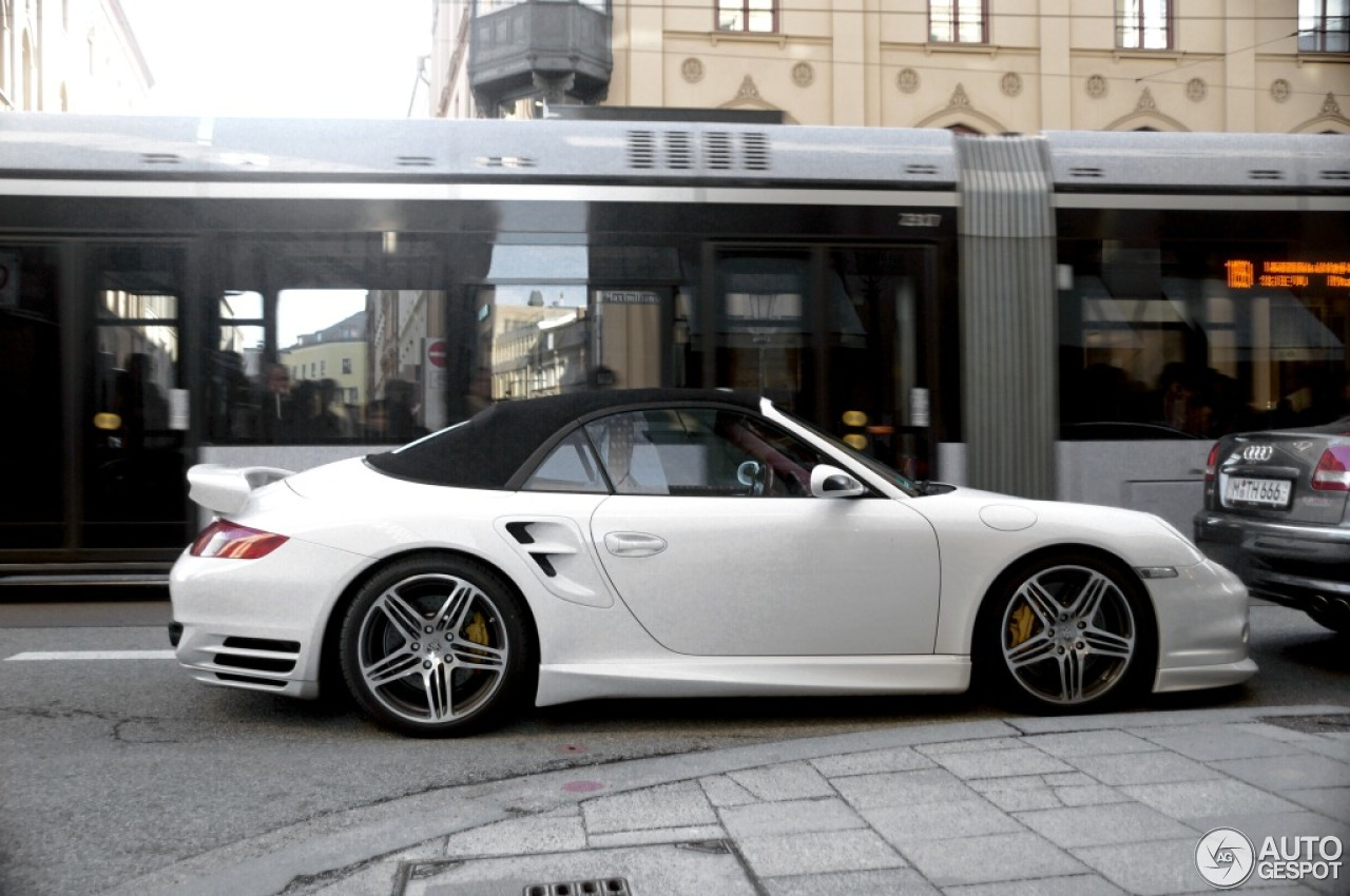 Porsche 997 Turbo Cabriolet Techart 4 January 2013