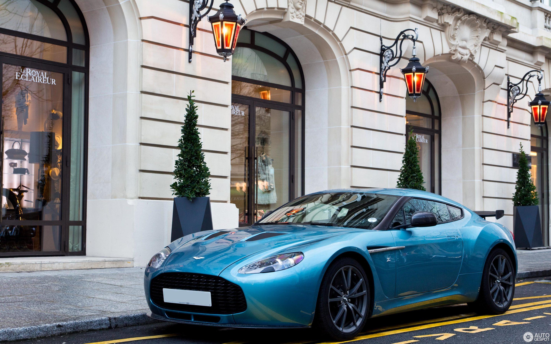 Aston Martin V Zagato January Autogespot - Aston martin v12 zagato specs