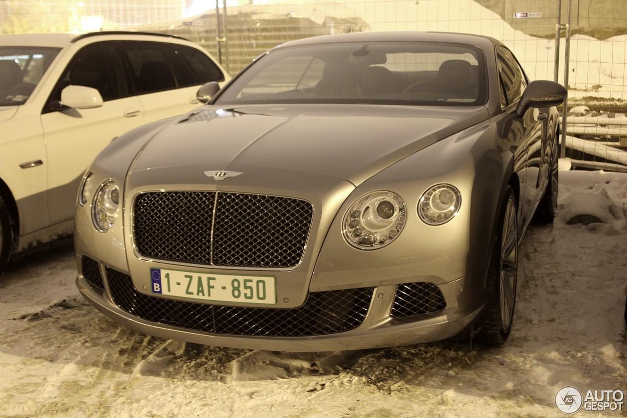 Bentley Continental Gt Speed 2012 17 Januari 2013