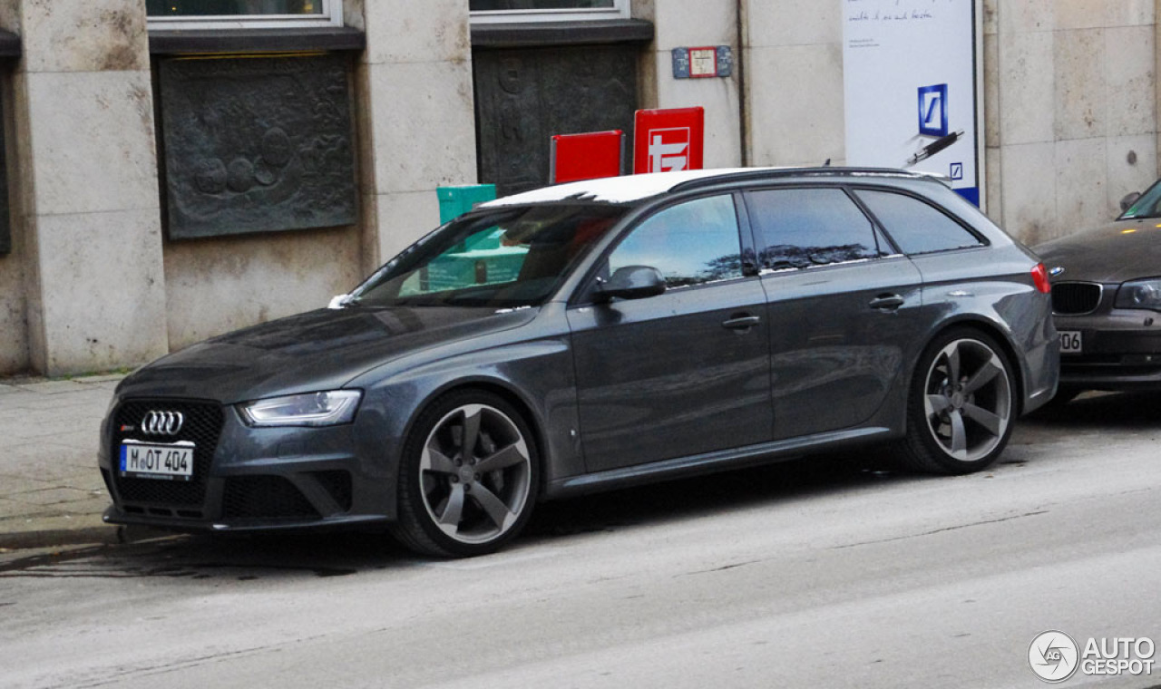 audi rs4 avant b8 1 february 2013 autogespot. Black Bedroom Furniture Sets. Home Design Ideas