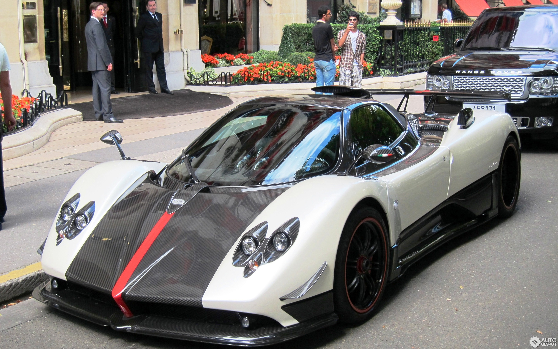 pagani zonda cinque roadster - 1 februar 2013 - autogespot