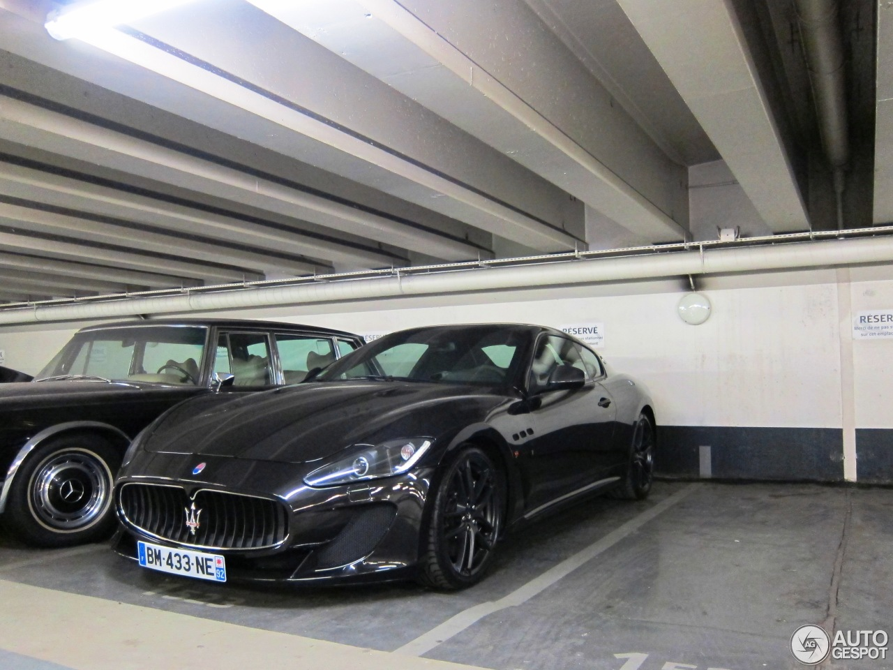 maserati granturismo mc stradale 2 fvrier 2013 autogespot. Black Bedroom Furniture Sets. Home Design Ideas