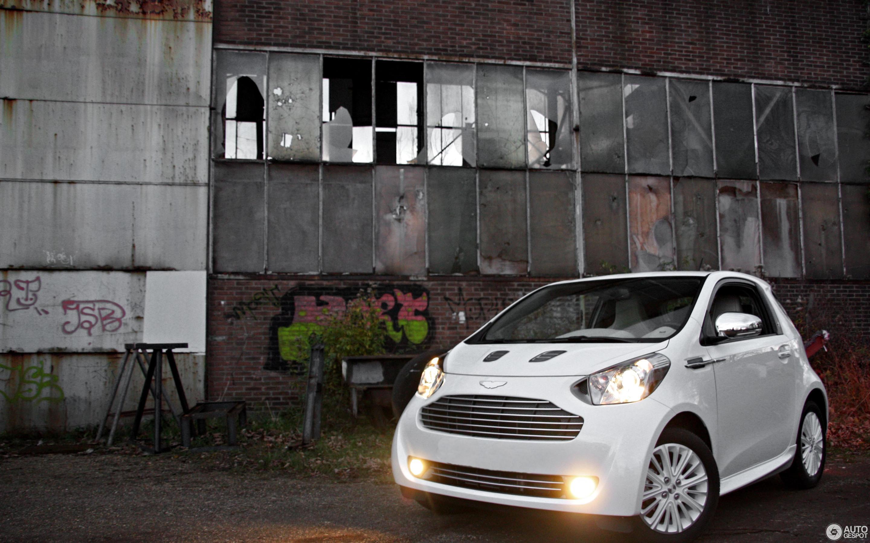 Aston Martin Cygnet Launch Edition White