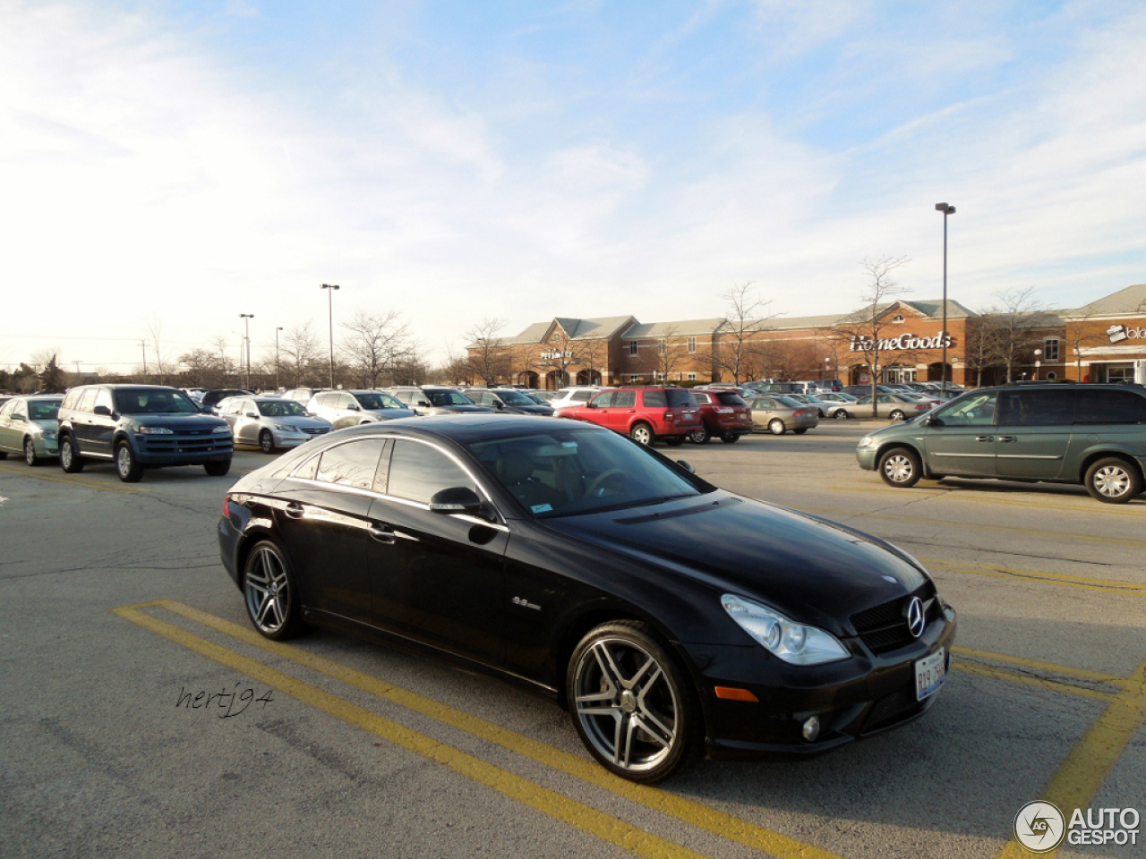 mercedes benz cls 63 amg c219 18 february 2013 autogespot. Black Bedroom Furniture Sets. Home Design Ideas