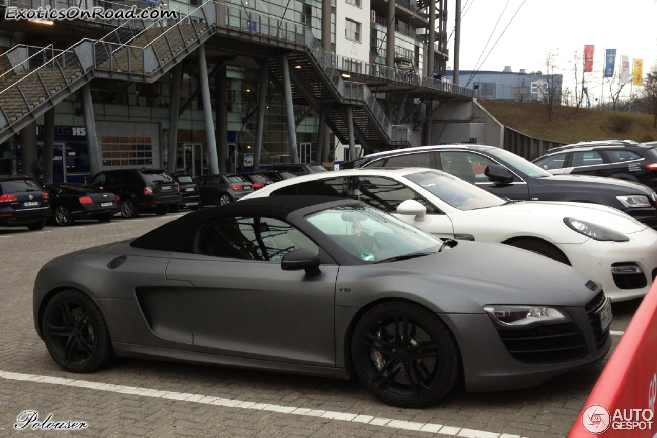 Audi R8 V10 Spyder 25 February 2013 Autogespot