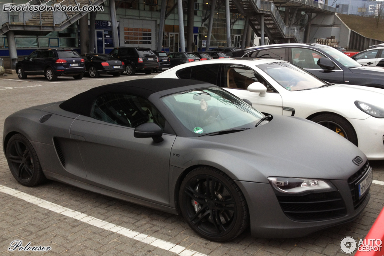 Audi R8 V10 Spyder - 25 February 2013 - Autogespot