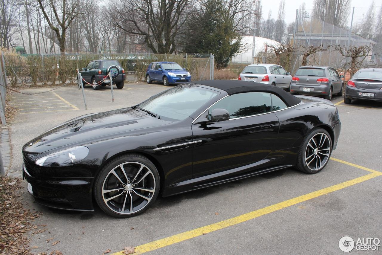 Aston Martin DBS Volante Carbon Black Edition - 5 March ...