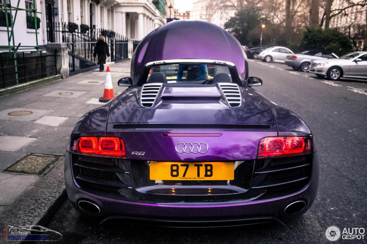 Audi R8 V10 Spyder 7 March 2013 Autogespot