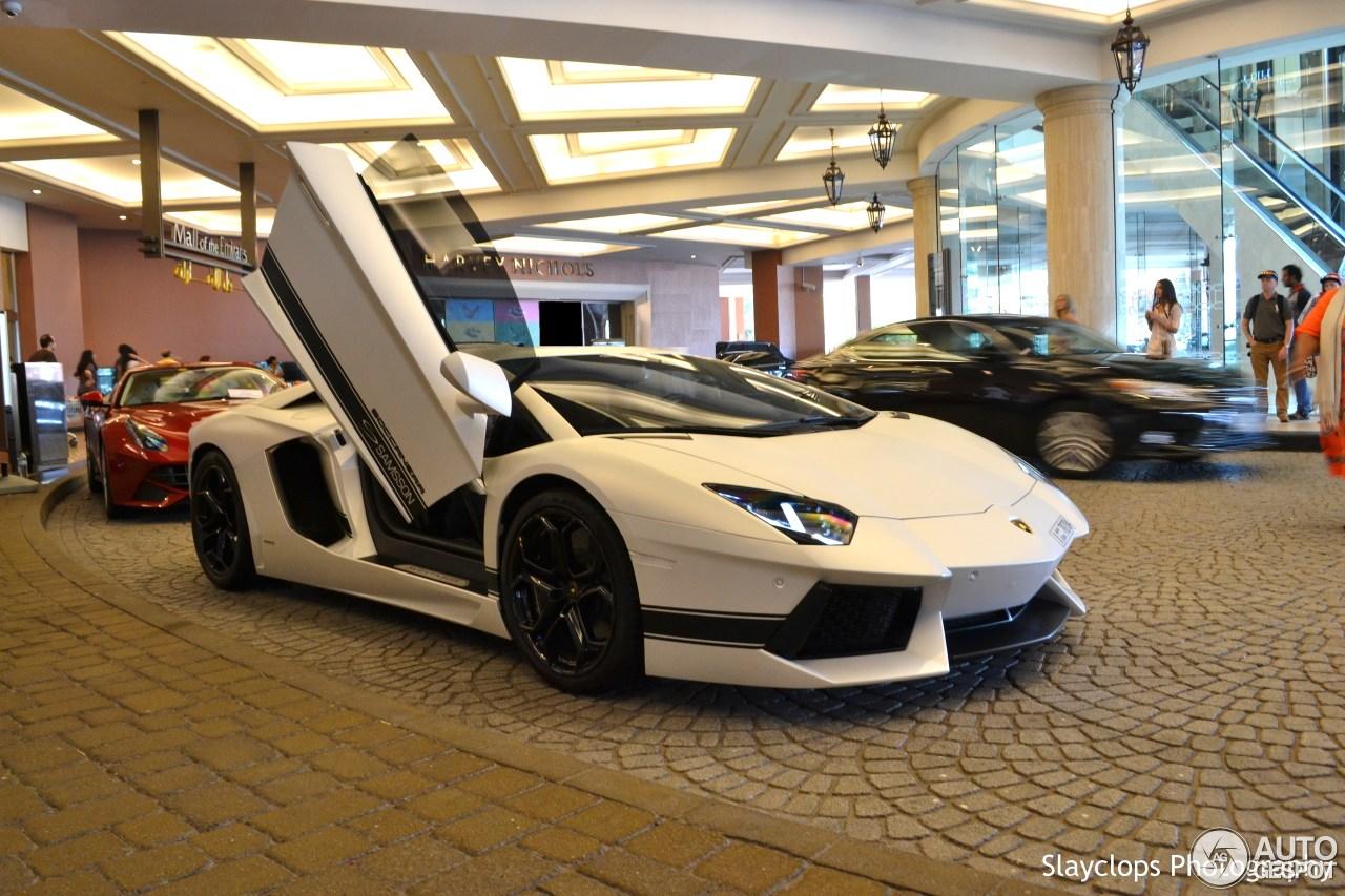 Lamborghini Aventador LP700-4 Boccanera Samsson