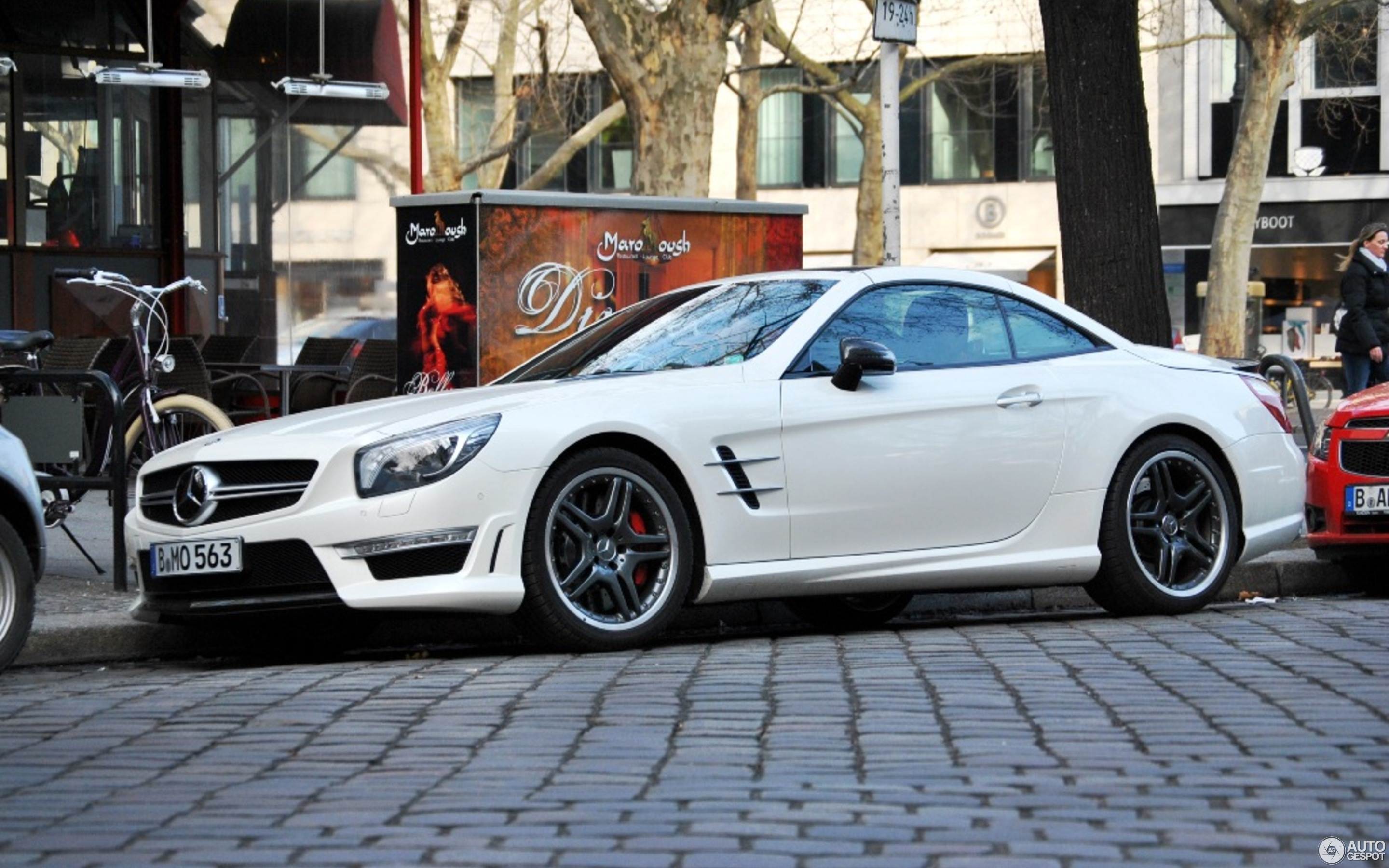 Mercedes Benz SL 63 AMG R231 13 April 2013 Autogespot
